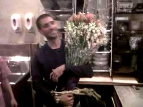 Crazy French Man In...Flower Shop!
