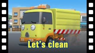Tayo Let'S Clean L 📽 Tayo'S Little Theater #53 L Tayo The Little Bus