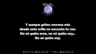 Por Quererte - Instrumental Version in the style of Efecto Mariposa