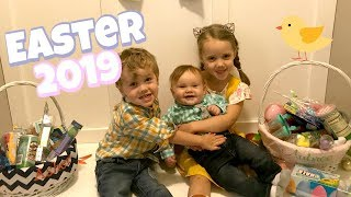 Easter Eve and Easter Morning Opening the Kids Easter Baskets! 2019