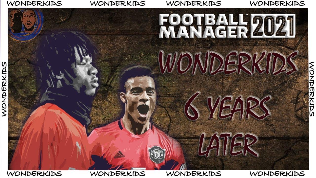 Best Wonderkids In 6 Years Top Players Fm21 Tookajobs Top Wonderkids Football Manager 21 Youtube
