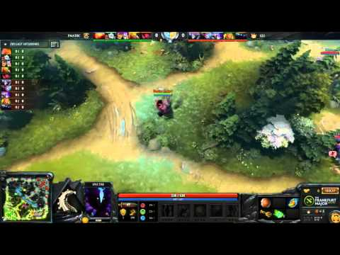 Fnatic vs Team 123 - Game 2 - Frankfurt Major Hub - Lyrical, Merlini, WinteR
