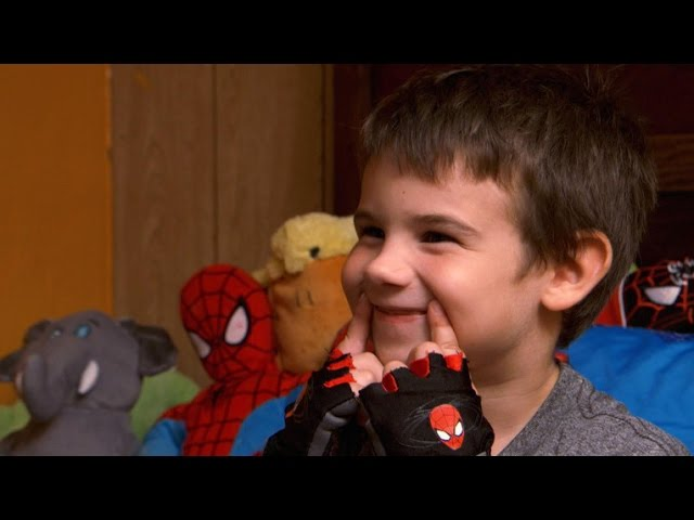 After losing parents, 6-year-old boy seeks smiles