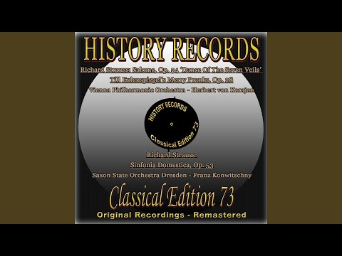 Sinfonia Domestica, Op. 53: II. Scherzo (Munter) (1956)