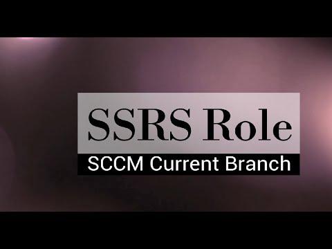 Setup Configure SCCM CB Reporting Services Point