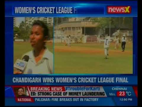 Chandigarh defeats Madhya Pradesh in finals at Women's Cricket league at MIG club in Mumbai