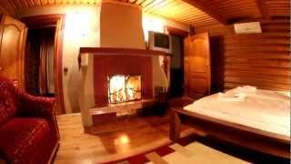 дерев'яний котедж(База відпочинку
