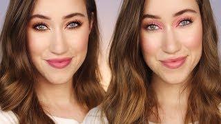 2 Looks, Same Drugstore Makeup