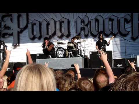 Papa Roach - Crash (Live @ Zwarte Cross 2010)