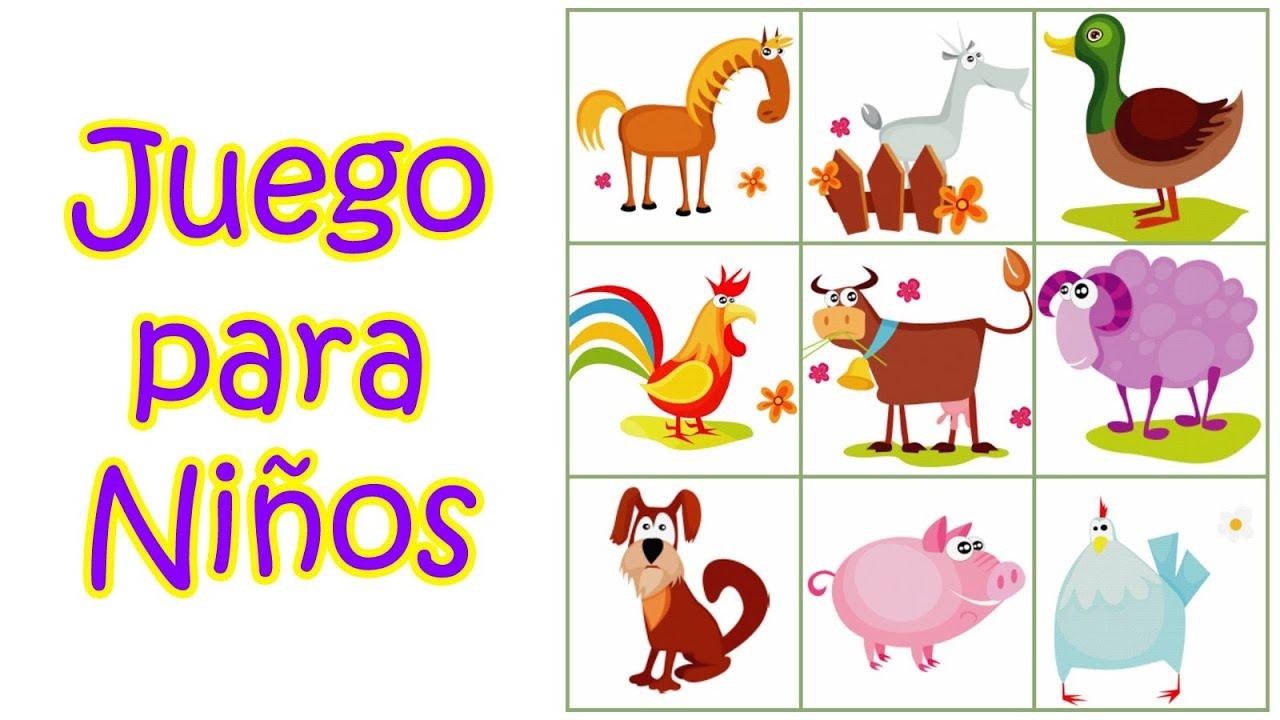 Juegos Para Nios  Juegos Infantiles Educativos Gratis  Soy un Animalito  YouTube