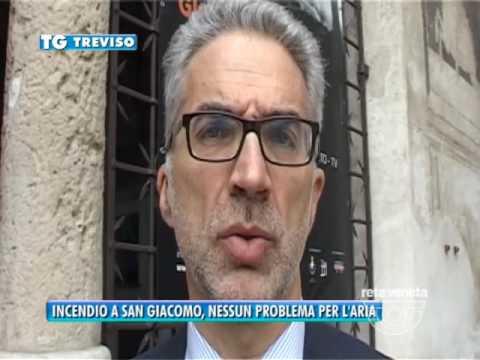 TG TREVISO (01/04/2017) - INCENDIO A SAN...