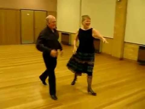 Georgella Blues Sequence Dance Demonstration