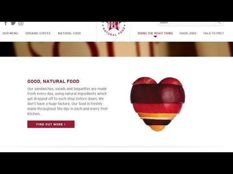 Pret A Manger adverts banned over claiming products are 'natural'