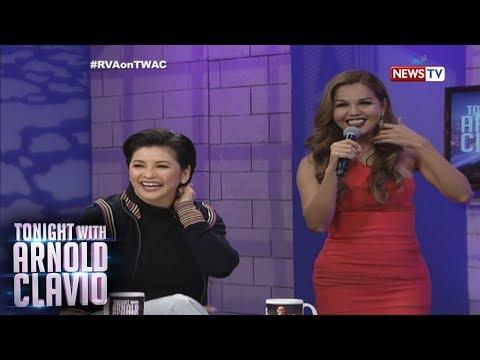 Tonight with Arnold Clavio: Sino ang magwawagi sa sing-off ng tatlong certified Reginettes?