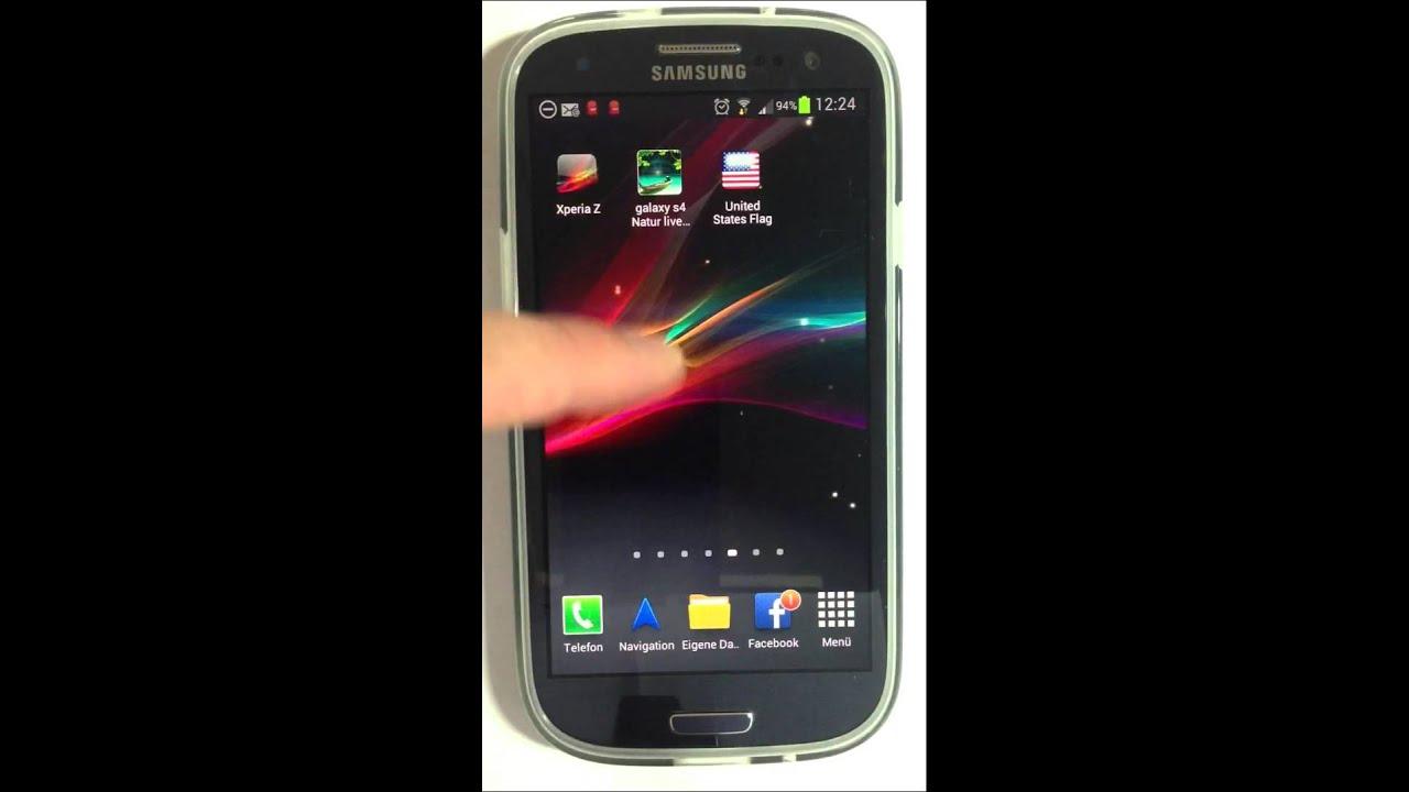 Samsung galaxy a3 schwarzer hintergrund