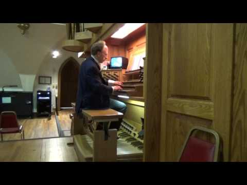 Steven Hoffman All Saints Organ Recital St  Mary's Cathedral Cheyenne Wyoming 30 October 2016