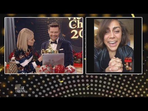Kelly & Ryan Call Winner of Best Trivia Dancer Award