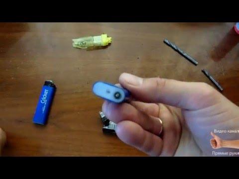 Показать как заправить газовую зажигалку для плиты