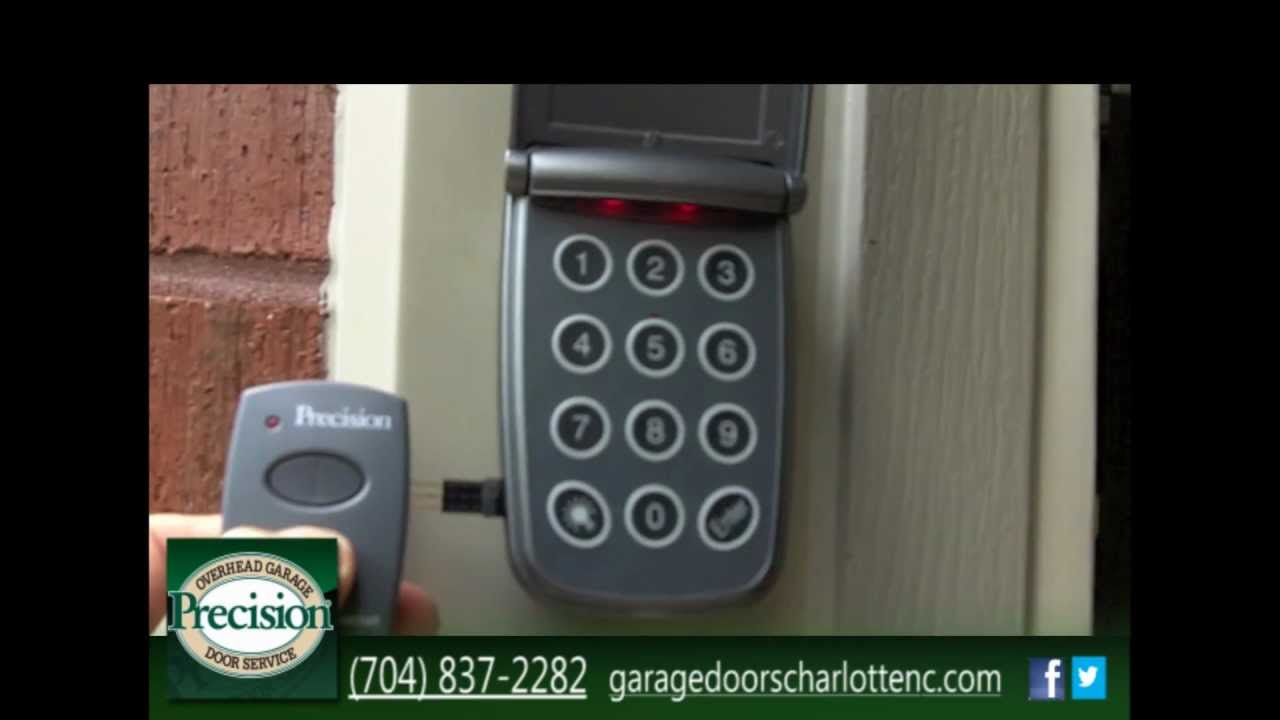 Pds 4700 Program One Keypad For Two Doors Youtube