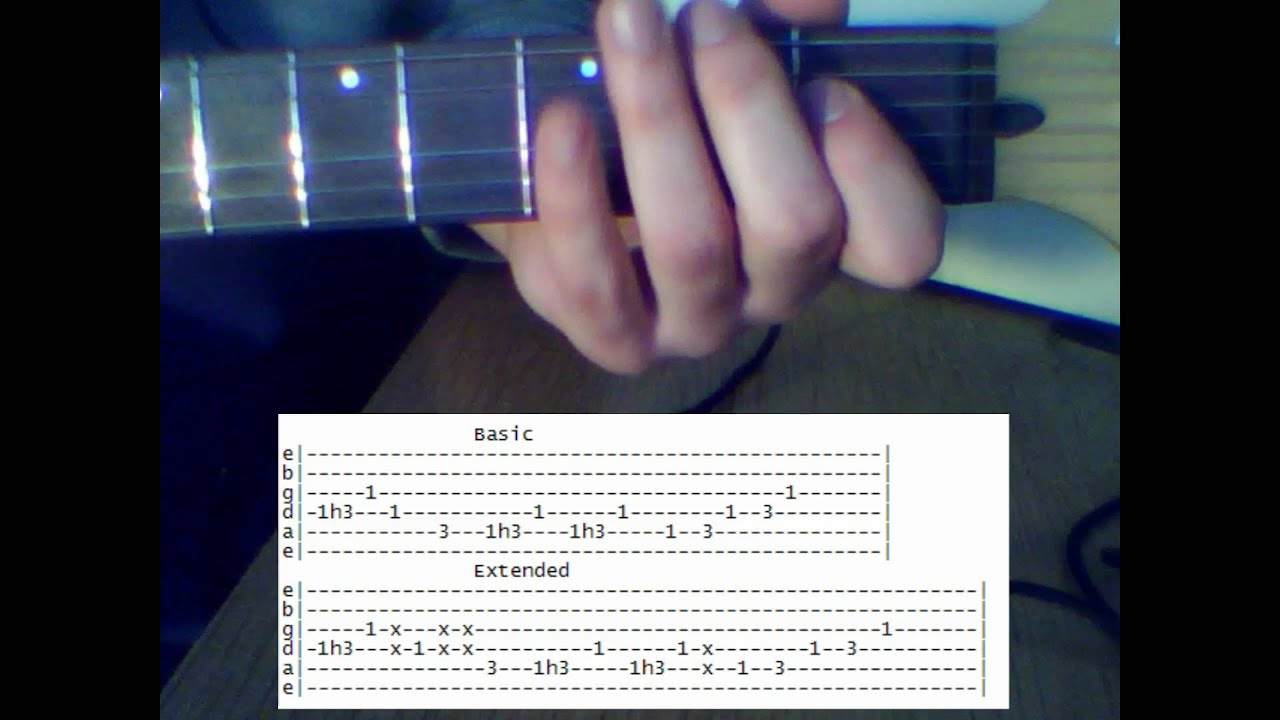 Bee Gees Stayin Alive Riff Cover Tab Youtube