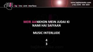 Main Woh Duniya Hoon Jahan - Video Karaoke - Sahir Ali Bagga - by Baji Karaoke