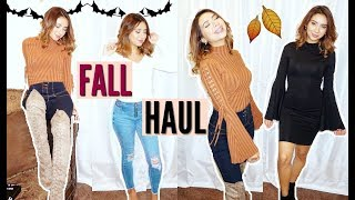 TRY-ON FALL HAUL! ft. Fashion Nova