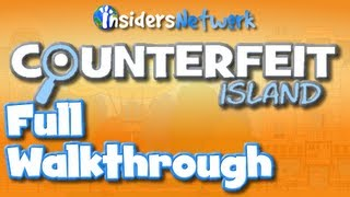 ★ Poptropica: Counterfeit Island Full Walkthrough ★