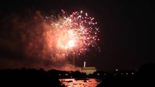 4th of July Fireworks, National Mall, Washington DC, 2013