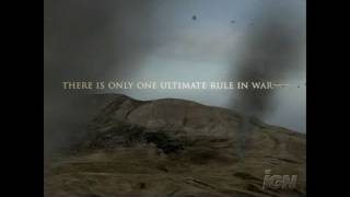 Ace Combat Zero: The Belkan War PlayStation 2 Trailer -