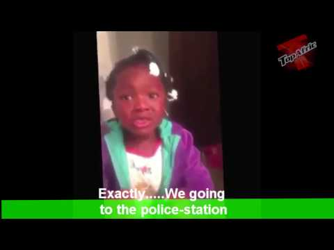 Little Girl Gets Scared After Her Mom Told She's Going To Jail For Stealing Candy!