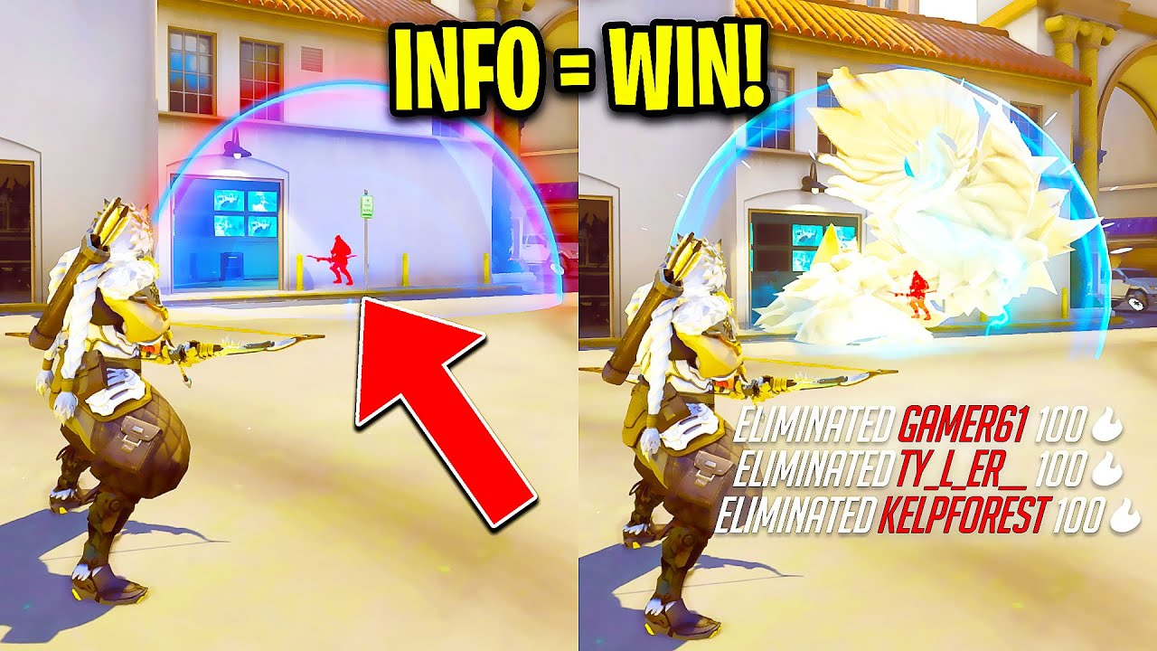 When Pro Players use INFO to OUTPLAY! - Overwatch