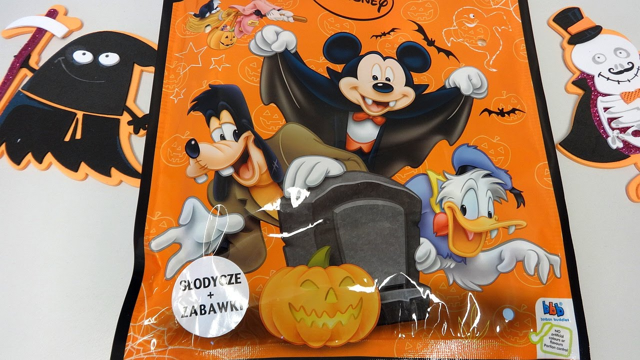mickey minnie mouse and friends toys mystery maxi pack unboxing ハロウィン