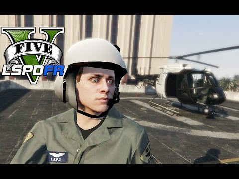 GTA 5 - LSPDFR Ep31 - Air Support Chase w/ Police Helicopter!!