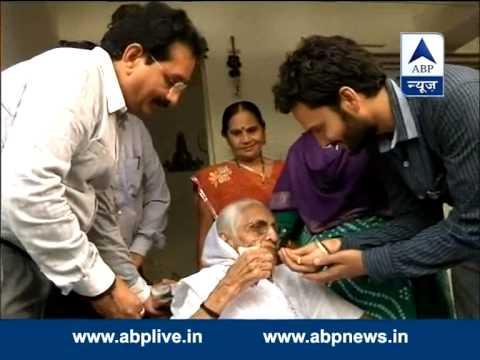 Modi's mother, relative celebrate Modi's sworn in as next PM