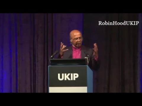Bishop Michael Nazir-Ali sermon to UKIP conference
