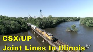 CSX/UP Joint Lines In Illinois