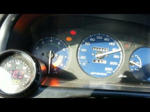 Honda Civic B16 Turbo 10.000 RPM  at 1 bar - 14 psi (50-200,0-110 km)