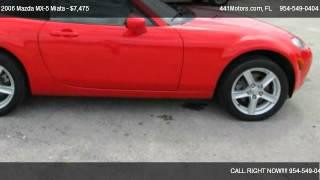 2006 Mazda MX-5 Miata 3rd Generation Limited - for sale in Miami, FL 33160