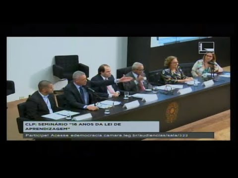 LEGISLAÇÃO PARTICIPATIVA - 16 anos da Lei da Aprendizagem - 09/08/2017 - 14:31
