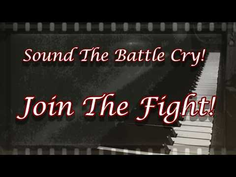 Sound The Battle Cry (Hymn Background With Words)