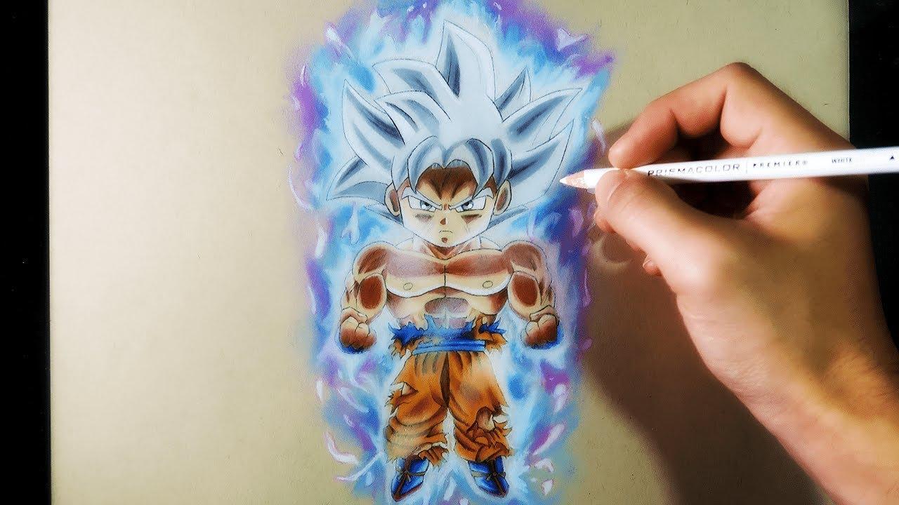 Dibujos Para Colorear De Goku Ultra Instinto: Dibujos De Goku Fase Ultra Instinto Para Colorear Enam