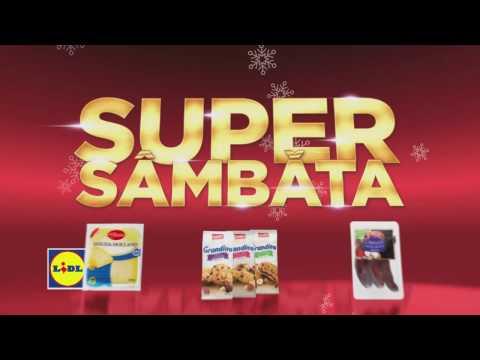 Super Sambata la Lidl • 7 Ianuarie 2017