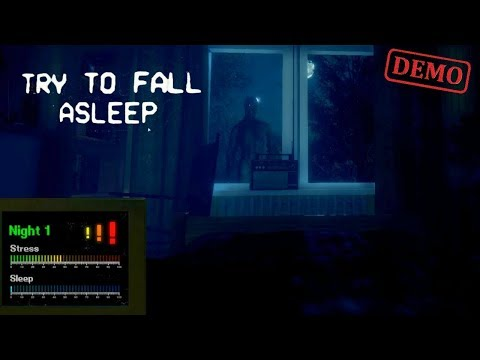 Try To Fall Asleep Demo Playthrough Gameplay (No Commentary)