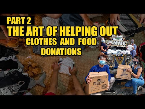 LOCKDOWN CLOTHES AND FOOD DONATIONS