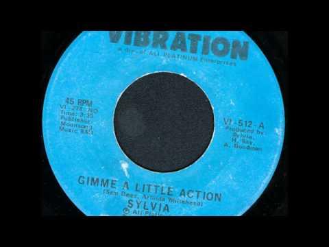 GIMME A LITTLE ACTION.....SYLVIA ROBINSON