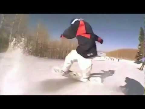 technine  snowboard buttering / flatground tricks