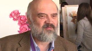 Художник Сергей Андрияка показал мастер-класс начинающим живописцам