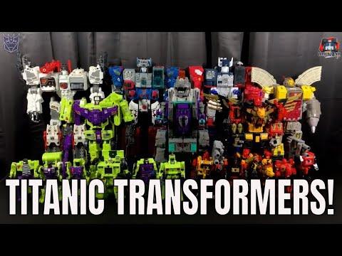 Titanic Transformers! Titan Class Transformers Collection