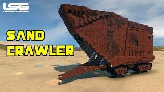 Space Engineers - Sand Crawler Jawa Star Wars