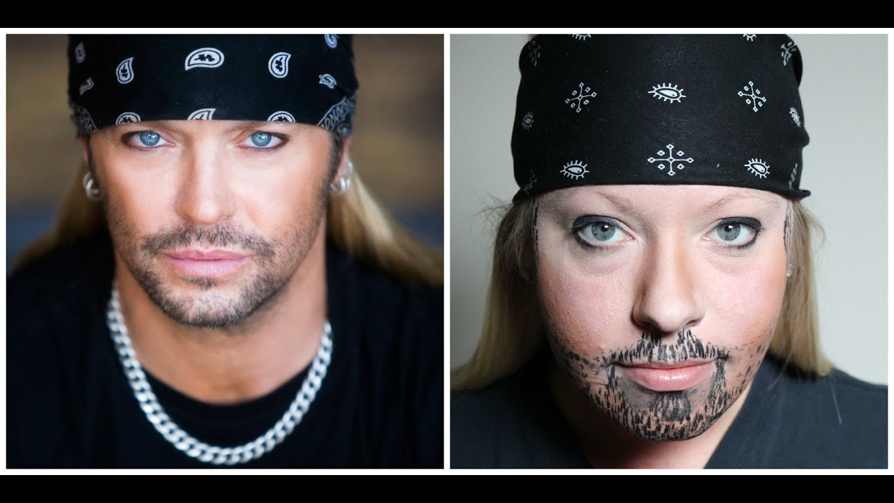 How To Look Like Bret Michaels Tutorial Youtube